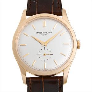SALE パテックフィリップ カラトラバ 5196R-001 中古 メンズ 腕時計|ginzarasin