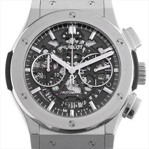 ウブロ アエロフュージョン チタニウム ブレスレット 525.NX.0170.NX 中古 メンズ 腕時計|ginzarasin