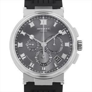 48回払いまで無金利 ブレゲ マリーン クロノグラフ 5527TI/G2/5WV 中古 メンズ 腕時計|ginzarasin