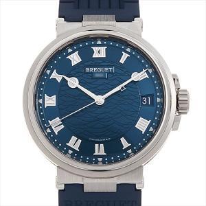 48回払いまで無金利 ブレゲ マリーン 5517BB/Y2/5ZU 中古 メンズ 腕時計|ginzarasin