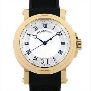 48回払いまで無金利 ブレゲ マリーン ラージデイト 5817BA/12/9V8 中古 メンズ 腕時計|ginzarasin