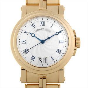 48回払いまで無金利 ブレゲ マリーンII ラージデイト 5817BA/12/AVO 中古 メンズ 腕時計|ginzarasin