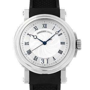 SALE ブレゲ マリーン ラージデイト 5817ST/12/5V8 中古 メンズ 腕時計...