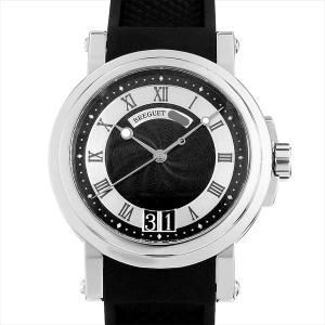48回払いまで無金利 ブレゲ マリーンII ラージデイト 5817ST/92/5V8 中古 メンズ 腕時計|ginzarasin