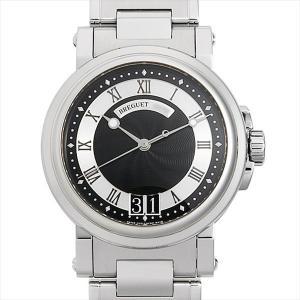 48回払いまで無金利 ブレゲ マリーンII ラージデイト 5817ST/92/SM0 中古 メンズ 腕時計|ginzarasin