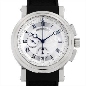48回払いまで無金利 ブレゲ マリーンII クロノグラフ 5827BB/12/5ZU 中古 メンズ 腕時計|ginzarasin
