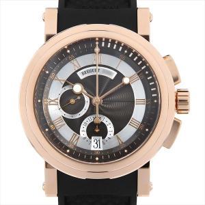 48回払いまで無金利 ブレゲ マリーンII クロノグラフ 5827BR/Z2/5ZU 中古 メンズ 腕時計|ginzarasin