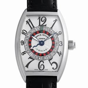 48回払いまで無金利 SALE フランクミュラー ヴェガス 5850VEGAS AC 中古 メンズ 腕時計 ginzarasin