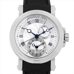 48回払いまで無金利 ブレゲ マリーン GMT 5857ST/12/5ZU 中古 メンズ 腕時計|ginzarasin