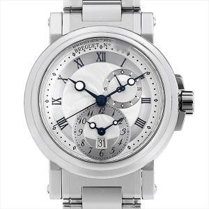48回払いまで無金利 ブレゲ マリーン GMT 5857ST/12/SZ0 中古 メンズ 腕時計|ginzarasin