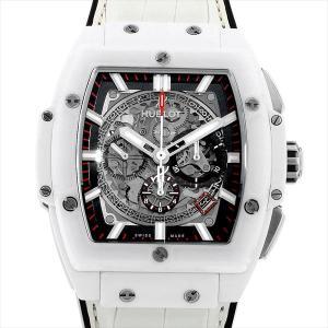 ウブロ スピリット オブ ビッグバン ホワイトセラミック 601.HX.0173.LR 中古 メンズ 腕時計|ginzarasin