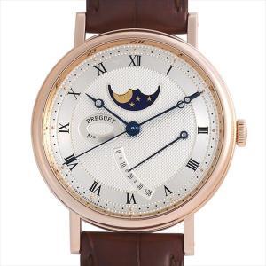 48回払いまで無金利 SALE ブレゲ クラシック ムーンフェイズ 7787BR/12/9V6 中古 メンズ 腕時計|ginzarasin