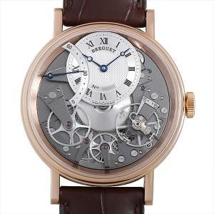 48回払いまで無金利 ブレゲ トラディション オートマティック レトログラードセコンド 7097BR/G1/9WU 中古 メンズ 腕時計|ginzarasin