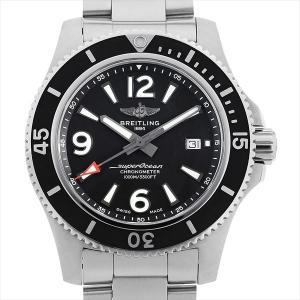 48回払いまで無金利 ブライトリング スーパーオーシャン オートマチック44 A17367D71B1A1(A17367)A292B-1PSS 中古 メンズ 腕時計 ginzarasin