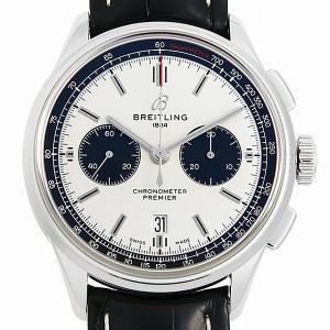 48回払いまで無金利 ブライトリング プレミエ B01 クロノグラフ 42 AB0118221G1P2(AB0118) 中古 メンズ 腕時計 ginzarasin