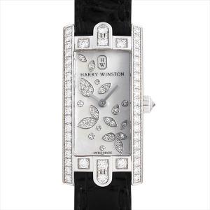48回払いまで無金利 ハリーウィンストン アヴェニューC ミニ リリークラスター AVCQHM16WW049 中古 レディース 腕時計|ginzarasin