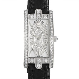 48回払いまで無金利 ハリーウィンストン アヴェニューC ミニ エリプティック AVCQHM16WW052 中古 レディース 腕時計|ginzarasin