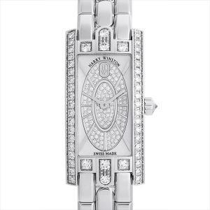 最大2万円OFFクーポン配布 ハリーウィンストン アヴェニューC ミニ エリプティック AVCQHM16WW053 中古 レディース 腕時計 48回払いまで無金利|ginzarasin