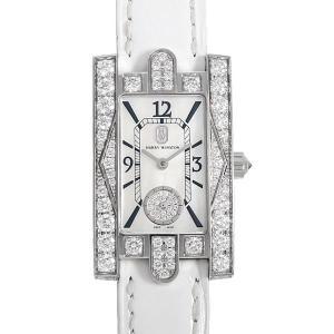 48回払いまで無金利 ハリーウィンストン アヴェニュークラシック オーロラ AVEQHM21WW231 中古 レディース 腕時計|ginzarasin