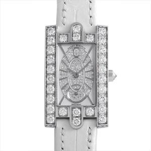 最大2万円OFFクーポン配布 ハリーウィンストン アヴェニュー エリプティック AVEQHM21WW241 中古 レディース 腕時計 48回払いまで無金利|ginzarasin