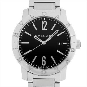 60回払いまで無金利 ブルガリ ブルガリブルガリ BB41BSSD 中古 メンズ 腕時計|ginzarasin