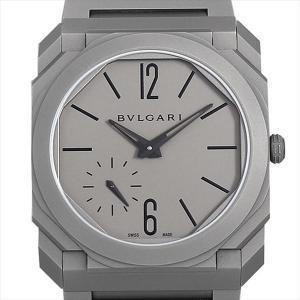 48回払いまで無金利 ブルガリ オクト フィニッシモ BGO40C14TTXTAUTO 中古 メンズ 腕時計|ginzarasin