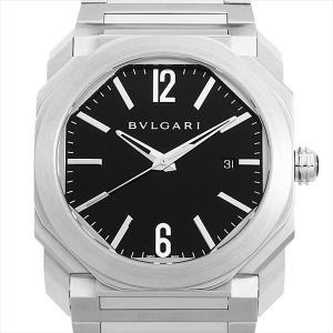 60回払いまで無金利 ブルガリ オクト BGO41BSSD 中古 メンズ 腕時計|ginzarasin