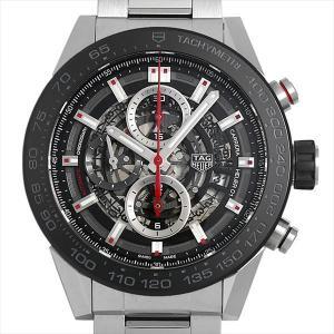 60回払いまで無金利 タグホイヤー カレラ キャリバー ホイヤー01 CAR2A1W.BA0703 中古 メンズ 腕時計|ginzarasin