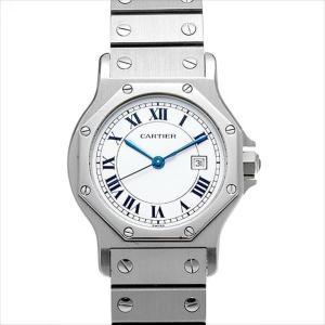 48回払いまで無金利 カルティエ サントス オクタゴン -- 中古 ボーイズ(ユニセックス) 腕時計|ginzarasin
