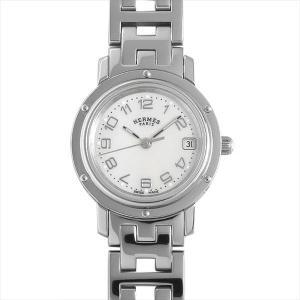 48回払いまで無金利 エルメス クリッパーナクレ CL4.210.212/3821 中古 レディース 腕時計|ginzarasin