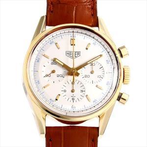 SALE 60回払いまで無金利 タグホイヤー カレラ クロノグラフ 1964年復刻モデル CS3140 中古 メンズ 腕時計|ginzarasin