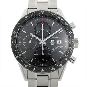 60回払いまで無金利 タグホイヤー カレラ タキメーター クロノグラフ J.M.ファンジオ CV201C.BA0786 中古 メンズ 腕時計|ginzarasin