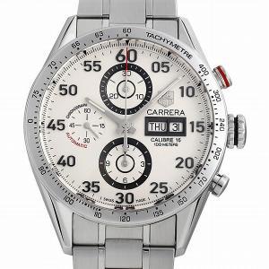 60回払いまで無金利 タグホイヤー カレラ タキメーター クロノグラフ デイデイト CV2A11.BA0796 中古 メンズ 腕時計|ginzarasin
