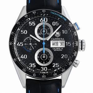 60回払いまで無金利 タグホイヤー カレラ キャリバー16 デイデイト クロノグラフ 韓国限定300本 CV2A16.FC6272 中古 メンズ 腕時計|ginzarasin