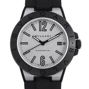 48回払いまで無金利 SALE ブルガリ ディアゴノ マグネシウム シルバーラッカー DG41C6SMCVD 中古 メンズ 腕時計|ginzarasin