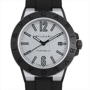 60回払いまで無金利 ブルガリ ディアゴノ マグネシウム 102427(DG41C6SMCVD)(DG41SMC) 中古 メンズ 腕時計|ginzarasin