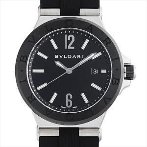 60回払いまで無金利 ブルガリ ディアゴノ セラミック DG42BSCVD 中古 メンズ 腕時計|ginzarasin