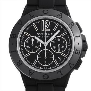 48回払いまで無金利 ブルガリ ディアゴノ マグネシウム クロノグラフ DG42BSMCVDCH 中古 メンズ 腕時計|ginzarasin