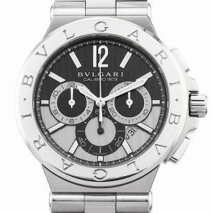 48回払いまで無金利 ブルガリ ディアゴノ カリブロ303 DG42BSSDCH 中古 メンズ 腕時計|ginzarasin
