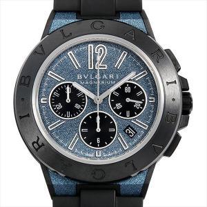48回払いまで無金利 ブルガリ ディアゴノ マグネシウム クロノグラフ DG42C3SMCVDCH 中古 メンズ 腕時計|ginzarasin