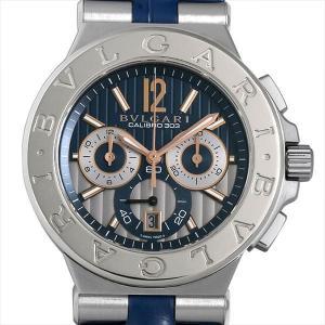 48回払いまで無金利 ブルガリ ディアゴノ カリブロ303 限定500本 DG42C3SWGLDCH 中古 メンズ 腕時計|ginzarasin