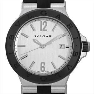 48回払いまで無金利 ブルガリ ディアゴノ セラミック DG42C6SCVD 中古 メンズ 腕時計|ginzarasin
