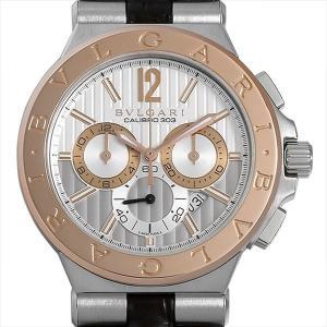 60回払いまで無金利 SALE ブルガリ ディアゴノ カリブロ303 DG42C6SPGLDCH 中古 メンズ 腕時計|ginzarasin