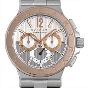 48回払いまで無金利 ブルガリ ディアゴノ カリブロ303 DG42C6SPGLDCH 中古 メンズ 腕時計|ginzarasin