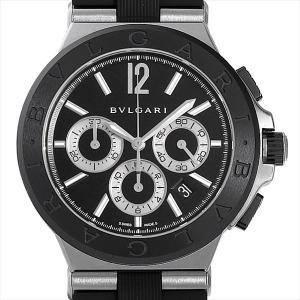 48回払いまで無金利 ブルガリ ディアゴノ セラミック DG42BSCVDCH 中古 メンズ 腕時計|ginzarasin