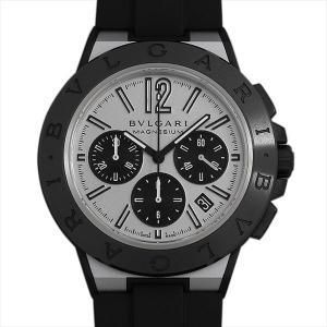 60回払いまで無金利 ブルガリ ディアゴノ マグネシウム クロノグラフ DG42WSMCVDCH 中古 メンズ 腕時計|ginzarasin