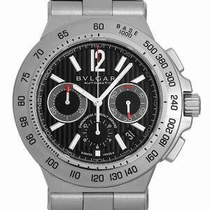 60回払いまで無金利 ブルガリ ディアゴノ プロフェッショナル クロノグラフ テラ DP42BSSDCH(DP42SCH) 中古 メンズ 腕時計 キャッシュレス5%還元|ginzarasin