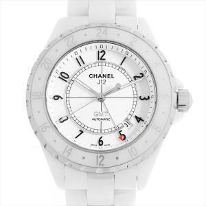 SALE シャネル J12 GMT 限定2000本 H2126 中古 メンズ 腕時計