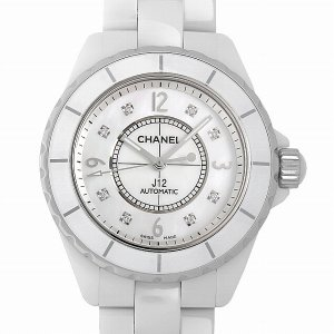 48回払いまで無金利 シャネル J12 8Pダイヤ H2423 中古 メンズ 腕時計|ginzarasin