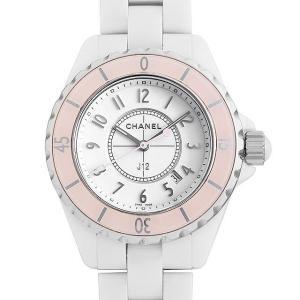 48回払いまで無金利 シャネル J12 33 ソフトピンク 世界限定1200本 H4467 中古 レディース 腕時計|ginzarasin